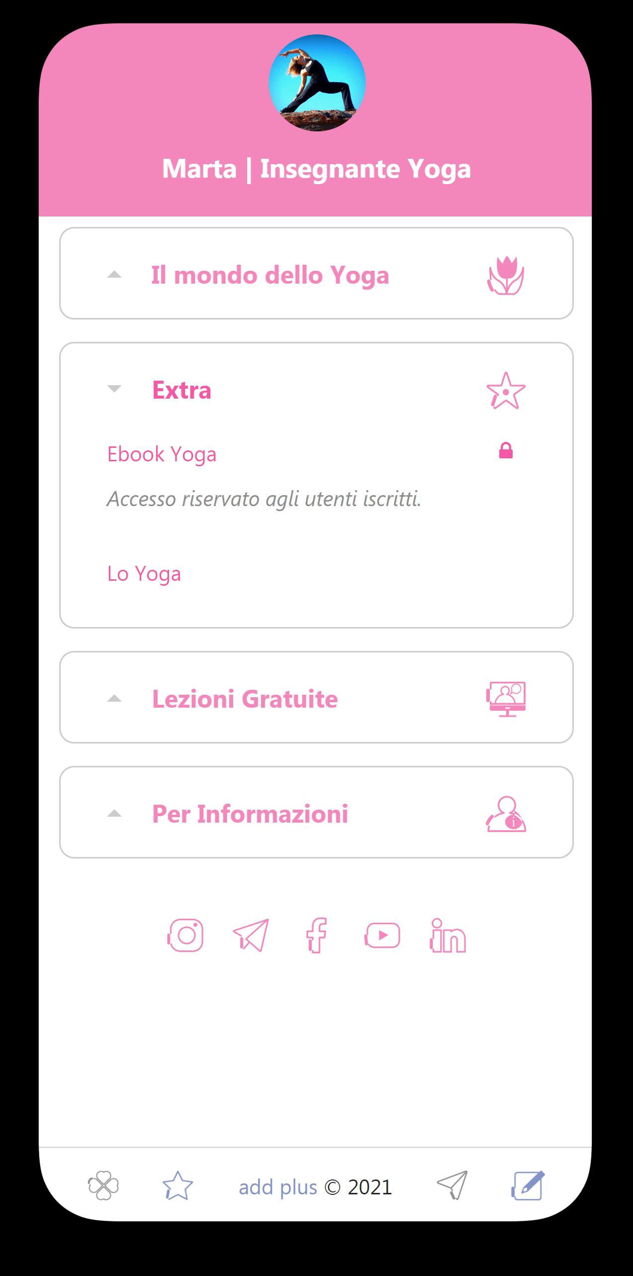 Inserire più link nella Bio di Instagram e TikTok
